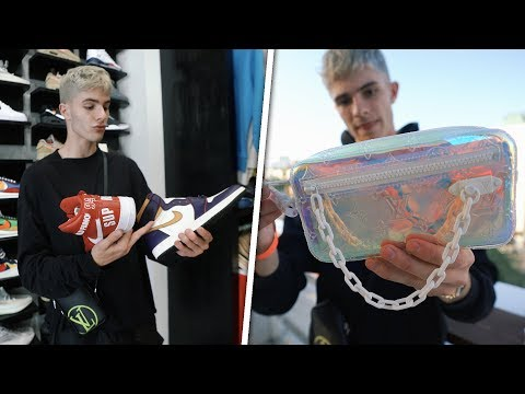 Spending Over $3,000 On Rare Louis Vuitton & Sneakers!