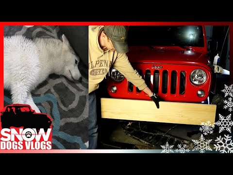 DIRTY DOG and JAMIE VLOGS Wooden Jeep Bumper?