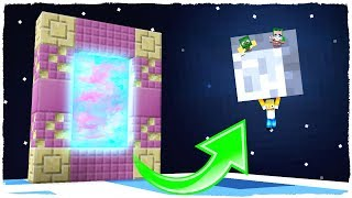MINECRAFT - PORTAL TO THE MOON DIMENSION (Mini Dimensions) # 3