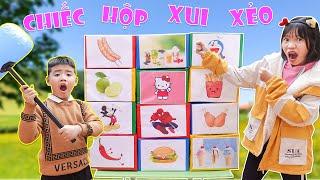 Trò Chơi Chiếc Hộp Xui Xẻo Phiên Bản Nhí ♥ Min Min TV Minh Khoa