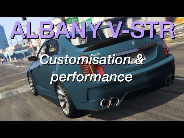 Albany V-STR • Customisation, performance et gameplay • GTA Online