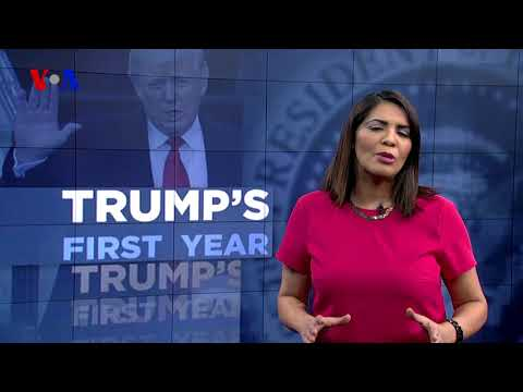 VOA Special Report: Trump's First Year