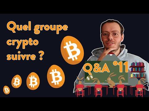 Bitcoin Q&A N°11: Quel groupe crypto suivre pour avoir un bel avenir ?