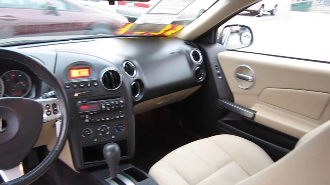 2006 Pontiac Grand Prix Brown Stock 12805bl Interior Youtube