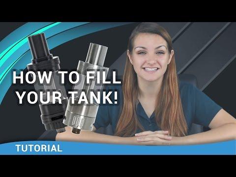 Beginner Vaper Tutorial: How to Fill a Vape Tank - ecsupplyinc.com