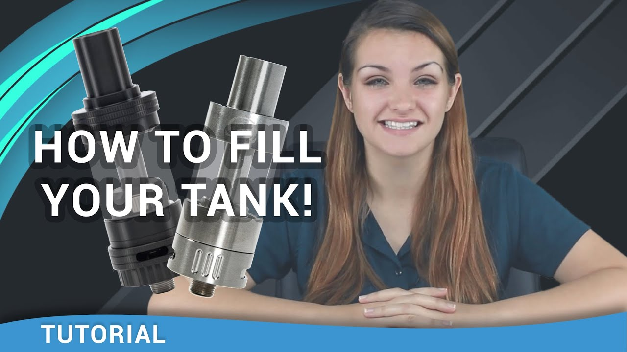 Beginner Vaper Tutorial: How to Fill a Vape Tank - ecsupplyinc com