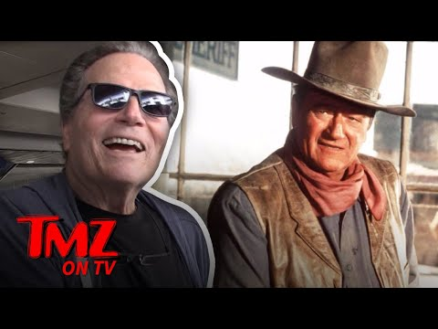 We Talk Trump With John Wayne's Son  TMZ TV
