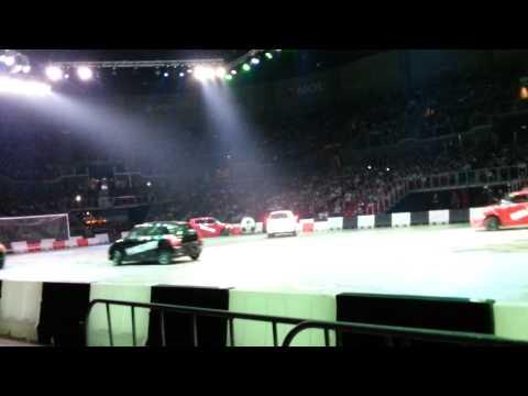 Top Gear Live Budapest. Full futball scene. Teljes foci jelenet. Suzuki Swift