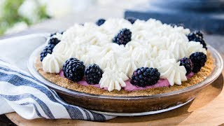Blackberry Icebox Pie