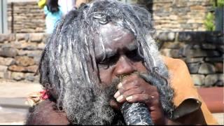Australian aboriginal at Blue Mountains ( Part 2 )