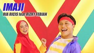 Ria Ricis feat Rizky Febian - IMAJI (Official Music Video)