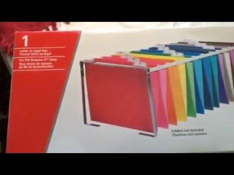 Pendaflex Reversaflex Hanging File Folder Frame Product Review ...