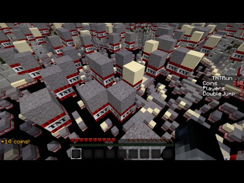 Minecraft - TNT RUN - Tercero, segundo y primero!!