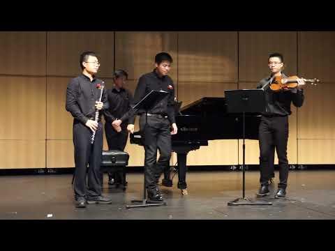 Nino Rota - Trio for Flute, Violin, and Piano