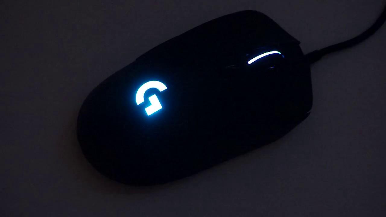 Logitech G403 light demo