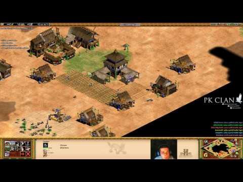 Age of Empires II HD FT [PK]Clown: 3v3 on Oasis | LOSING to a RELIC Victory!?