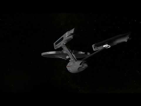Star Trek - The USS Enterprise  3D CGI Animation