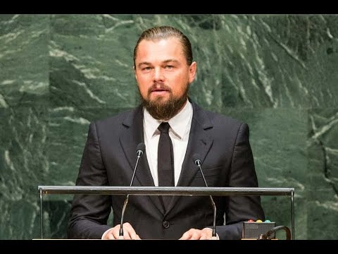 Leo DiCaprio Nails It In UN Climate Speech