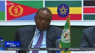 President Salva Kiir refuses to work with rival Riek Machar