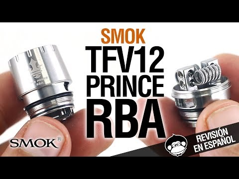 Smok TFV12 Prince RBA COIL / convierte al TFV12 en RTA / tutorial y revisión