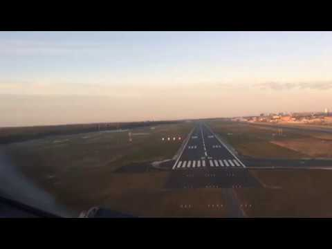 Baltic sky through pilot eyes