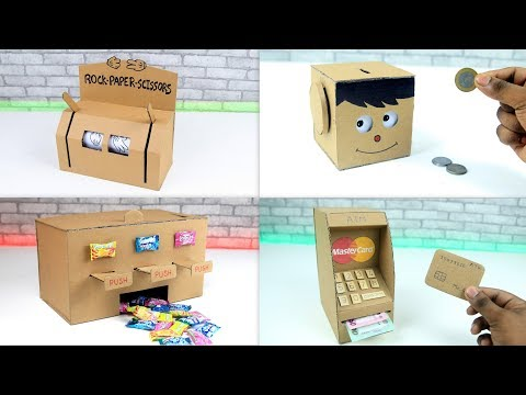 TOP 8 Unbelievable DIY Projects You Can Do at Home from Cardboard