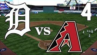 MLB The Show 14 - Detroit Tigers vs Arizona Diamondbacks - Part 4