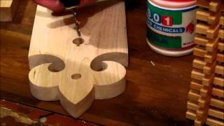Как сделать простой светильник - бра.(, 2015-02-13T07:45:06.000Z)