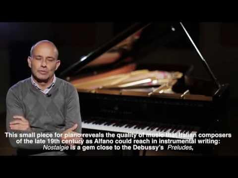 ORAZIO MAIONE - Franco Alfano, 1876-1954 - Nostalgie per pianoforte