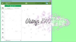ZAC Quick Start Tutorial