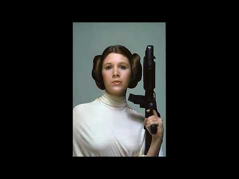 Carrie Fisher - Sexy Fap Tribute #1