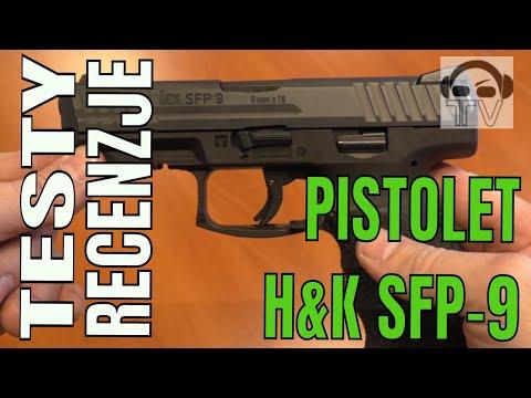 Pistolet HK SFP 9-SF  (VP9)
