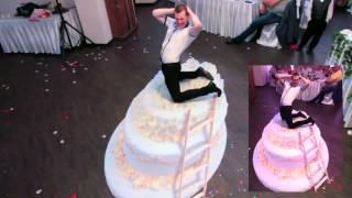 3D рисунки  на свадьбе