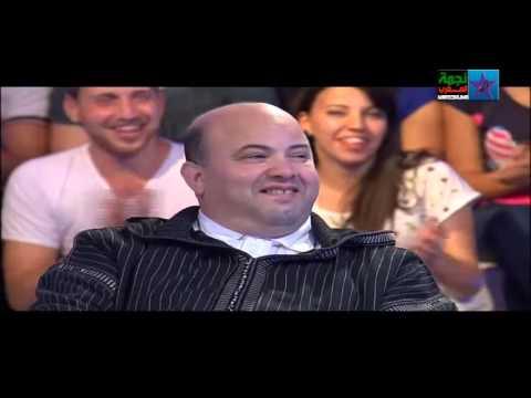 سكيتش فتاح كيفاش تزوجت بوحدة فيها ديفو Abdelfatah jawadi 2015 nojoum al aoula   YouTube