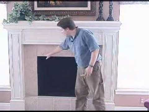 Stock Fireplace Doors How To Measure Youtube