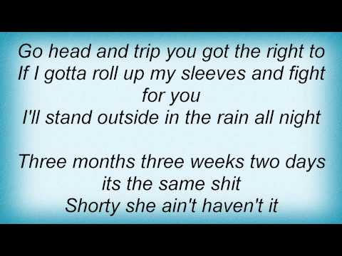 Jaheim - Back Tight Lyrics