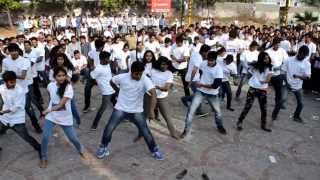 Flash Mob at Hyderabad