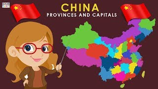 Learn Provinces and Capitals of China   China Country Map   Provinces Of China