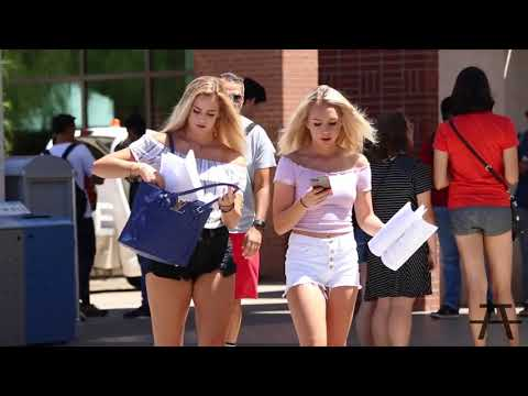 Music Prank on College Girls - Try not to laugh while watching this funny videos !