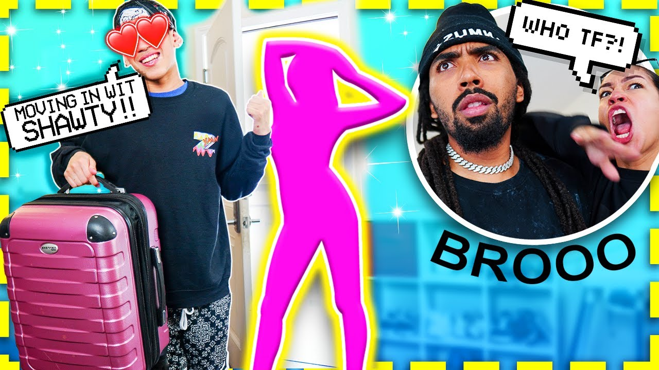 I'M MOVING OUT WITH MY NEW GIRLFRIEND!! Parents GET MADD! 😡