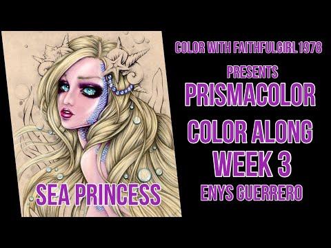 PRISMACOLOR PEARLS & BUBBLES | LIVE SEA PRINCESS ENYS GUERRERO WEEK 3