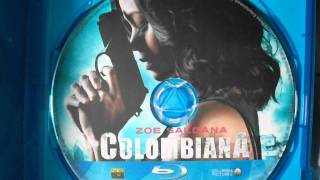 Early Christmas Gift: Colombiana (2011) Bluray Unboxing
