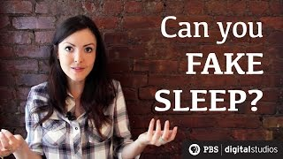 Repeat youtube video Can You Fake Sleep?