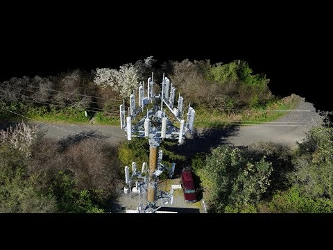 Drone Inspection of a Telecommunication Tower