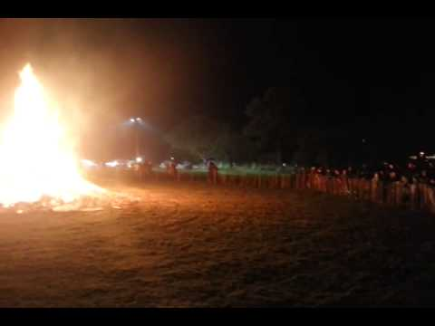 Bonfire Night celebrations at Dearnford Lake in Whitchurch