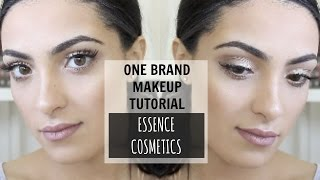 One Brand Makeup Tutorial | Essence Cosmetics