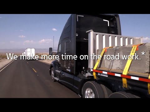 We make more time on the road work.*