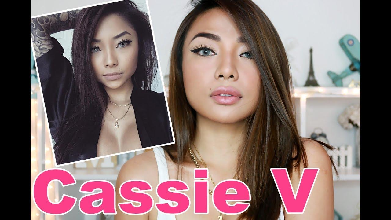 CASSIE V Make Up Tutorial (BABY Girl XoXo) - YouTube