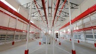 Паллетные стеллажи на 462 паллетоместа(На видео представлен реализованный проект по оснащению склада паллетными стеллажами. Общая емкость склада..., 2016-11-25T09:38:39.000Z)