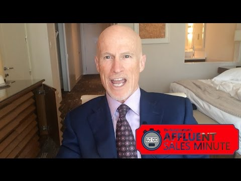 Affluent Sales Minute 137: Hug Your Wealthy Clients